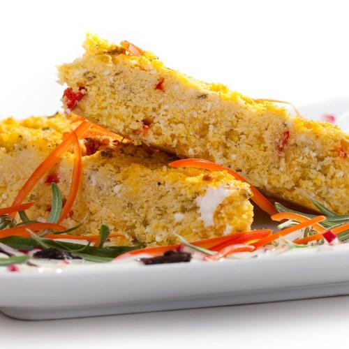 Śniadanie - pieczona polenta